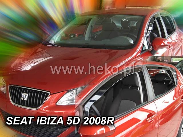 Ofuky oken Heko Seat Ibiza 5D 2008- přední + zadní