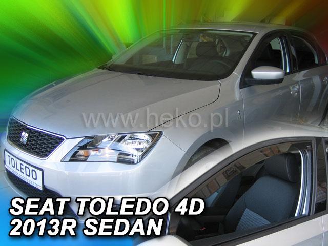 Ofuky oken Heko Seat Toledo 5D 2013- přední