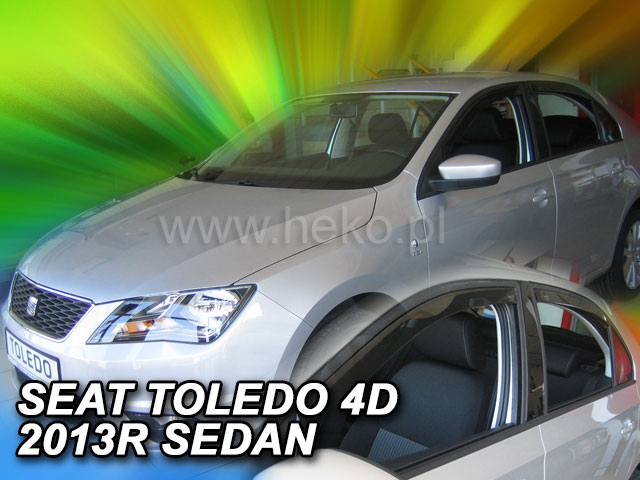 Ofuky oken Seat Toledo 5D 2013- p
