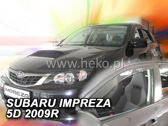 Ofuky oken Subaru Impreza GH 5D 2008- p