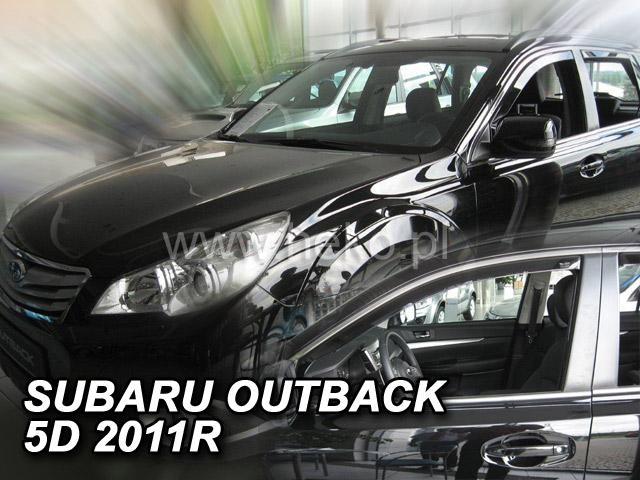 Ofuky oken Heko Subaru Outback 5D 2011- přední