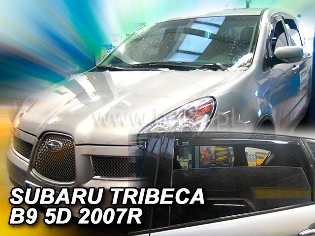 Ofuky oken Heko Subaru Tribeca B9 5D 2005- přední + zadní