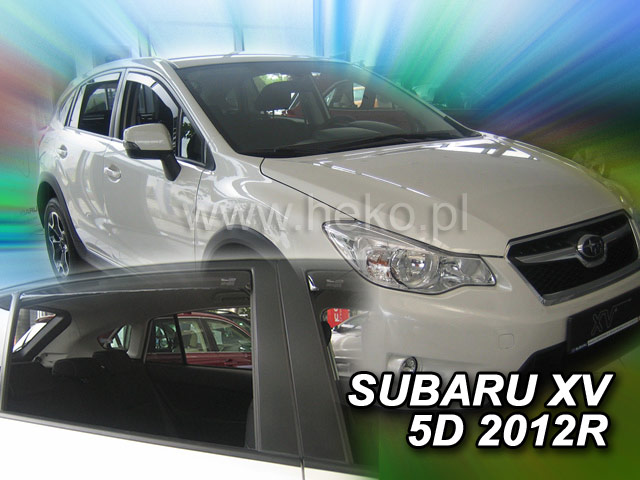 Ofuky oken Heko Subaru XV 5D 2012- přední + zadní