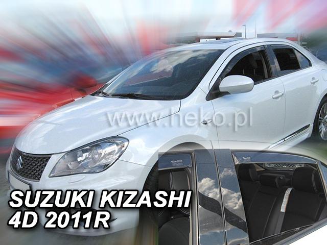 Ofuky oken Heko Suzuki Kizashi 4D 2011- přední + zadní