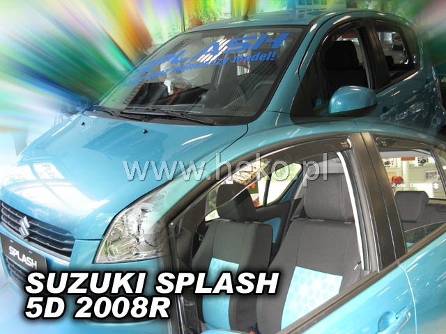 Ofuky oken Heko Suzuki Splash 5D 2008- přední + zadní