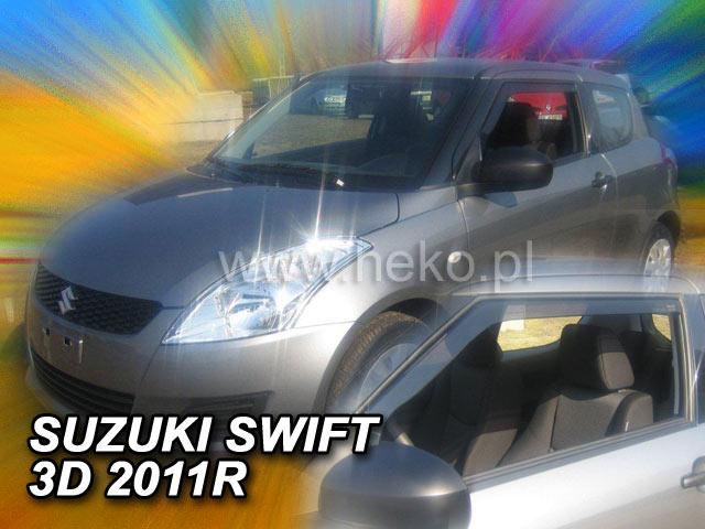 Ofuky oken Heko Suzuki Swift 3D 11/2010- přední