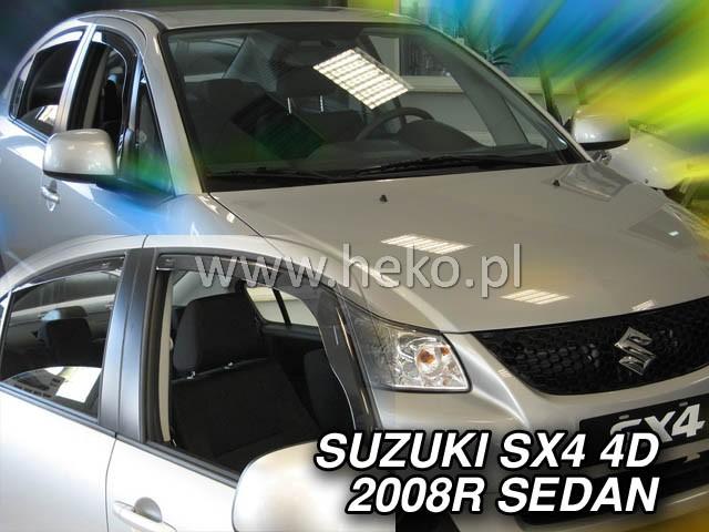 Ofuky oken Heko Suzuki SX4 5D 2006- přední + zadní sedan