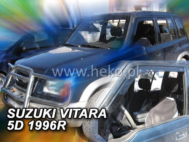 Ofuky oken Heko Suzuki Vitara 5D do 1998 přední + zadní