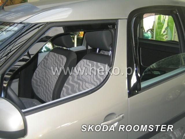 Ofuky oken Heko Škoda Roomster 5D 2006- přední + zadní