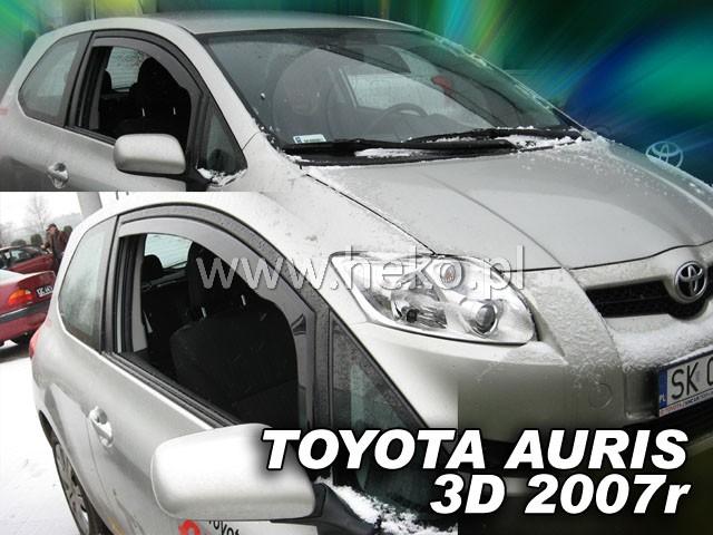 Ofuky oken Toyota Auris 3D 2007- p