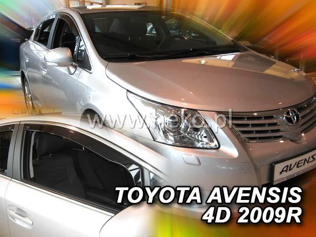Ofuky oken Heko Toyota Avensis 4D 2009- přední