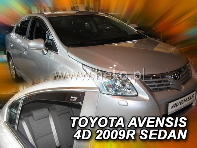 Ofuky oken Toyota Avensis 4D 2009- p