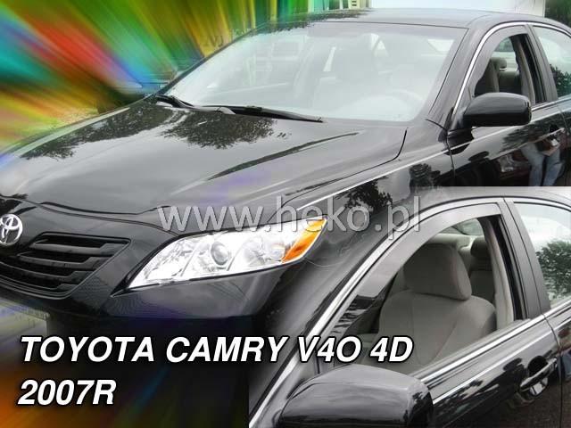 Ofuky oken Heko Toyota Camry V40 4D 2007- přední