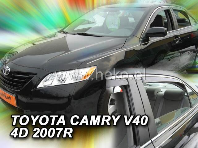 Ofuky oken Heko Toyota Camry V40 4D 2007- přední + zadní