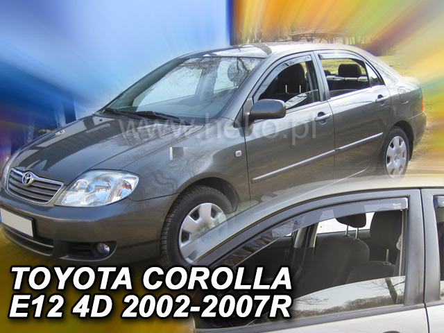 Ofuky oken Toyota Corolla 4/5D 2002-2007 p