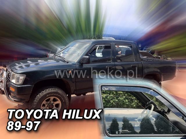 Ofuky oken Heko Toyota Hilux 4D 1989-1997 R/4 Runner přední