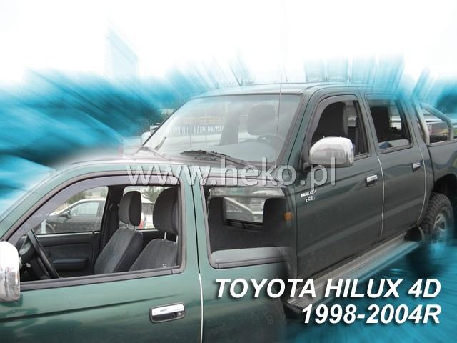 Ofuky oken Heko Toyota Hilux 4D 1998-2005 (MK5) přední