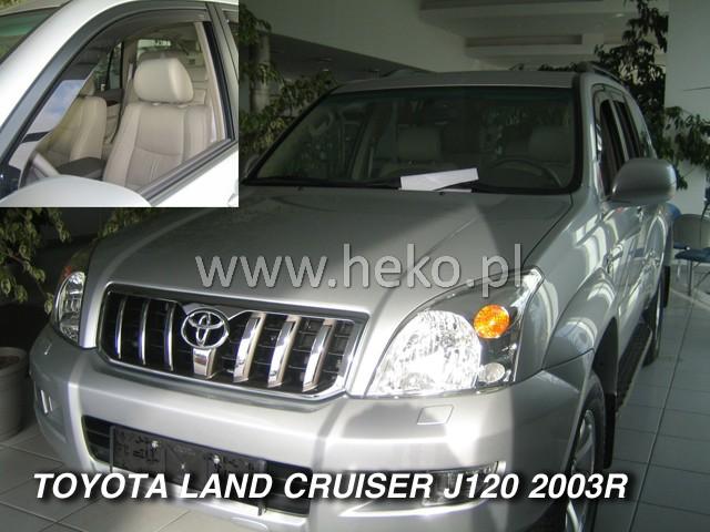 Ofuky oken Heko Toyota Land Cruiser J120 3/5D 2003 přední