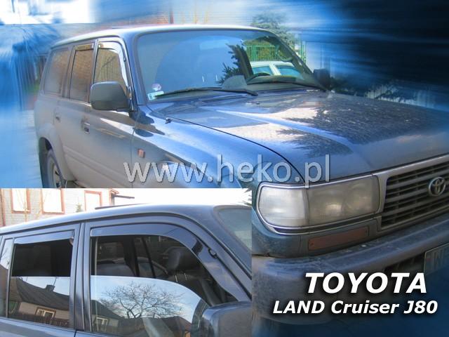 Ofuky oken Heko Toyota Land Cruiser J80 5D 1990-1998 přední