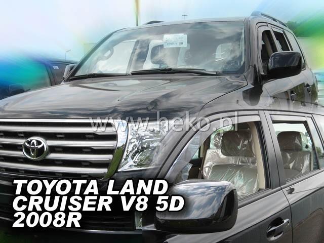 Ofuky oken Heko Toyota Land Cruiser V8 5D 2008- přední
