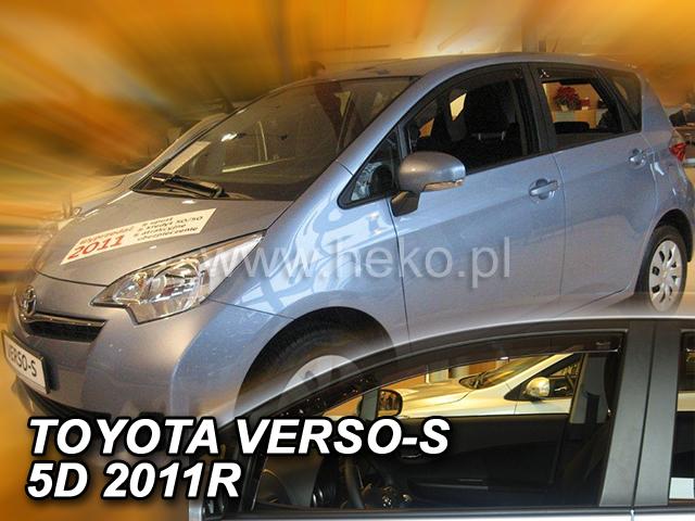 Ofuky oken Heko Toyota Verso-S 5D 2011- přední