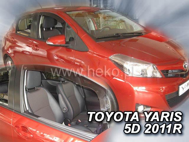 Ofuky oken Heko Toyota Yaris 5D 09/2011- přední
