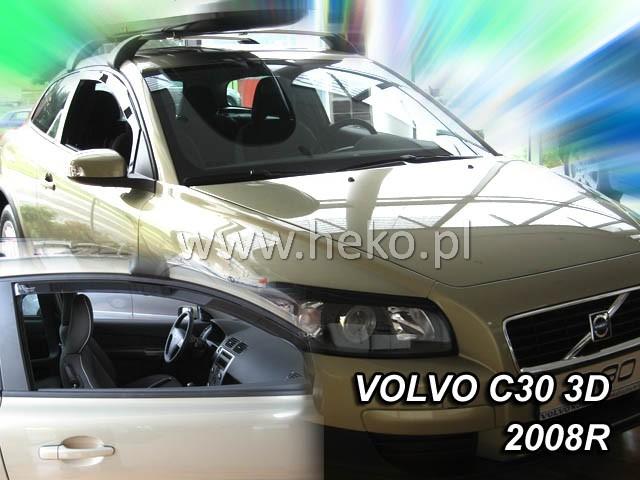 Ofuky oken Heko Volvo C30 3D 2007- přední