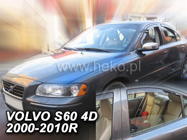 Ofuky oken Heko Volvo S60 4D 2000-2010 přední + zadní