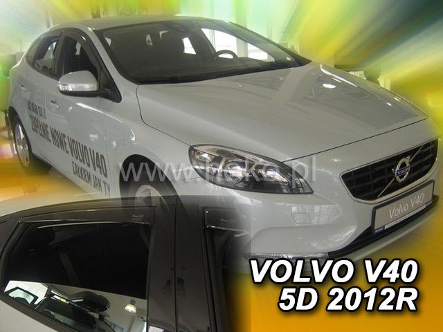 Ofuky oken Heko Volvo V40 5D 2012- přední + zadní