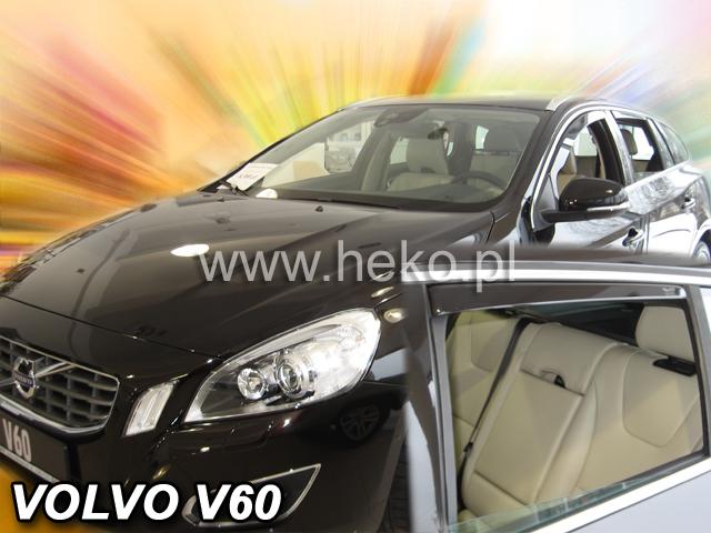 Ofuky oken Heko Volvo V60 5D 2010- přední + zadní