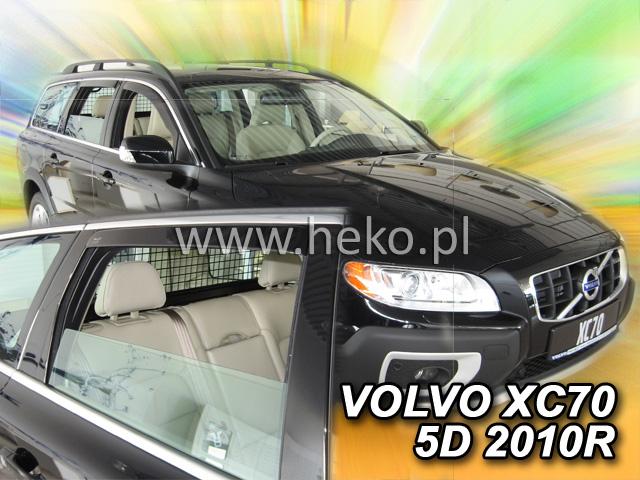 Ofuky oken Heko Volvo V70 / XC70 5D 2007- přední + zadní