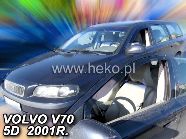 Ofuky oken Heko Volvo V70 5D 2000- přední