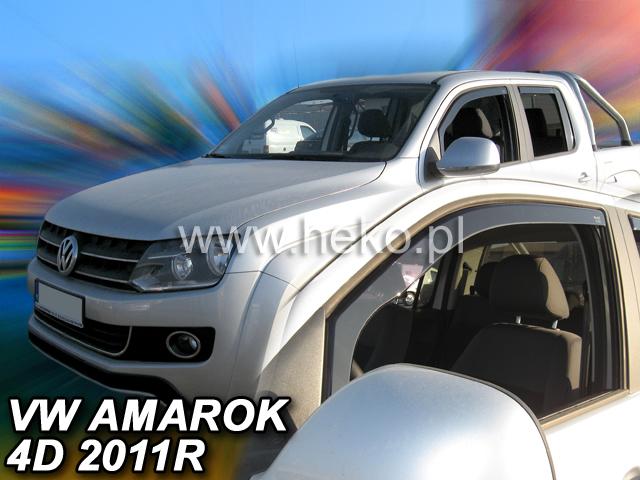 Ofuky oken Heko VW Amarok 4D 2011- přední