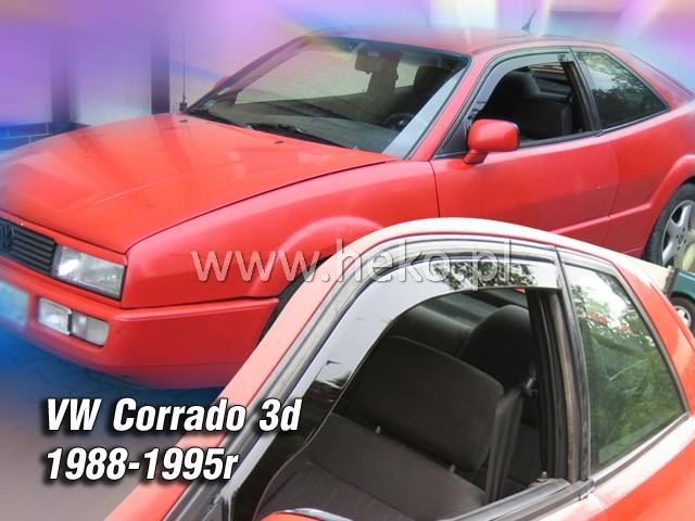 Ofuky oken Heko VW Corrado 3D 1988-1990 přední