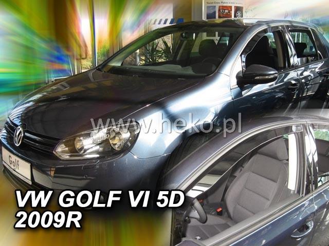 Ofuky oken Heko VW Golf VI 5D 2008- přední