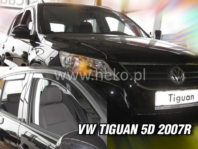 Ofuky oken Heko VW Tiguan 5D 2008- přední