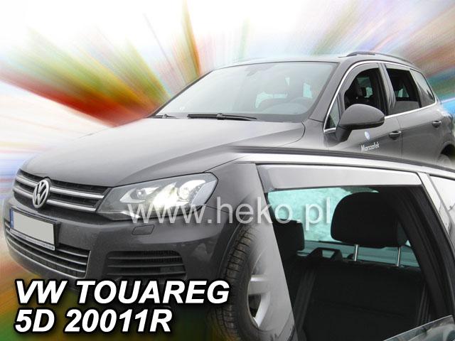 Ofuky oken Heko VW Touareg 5D 2010- přední + zadní