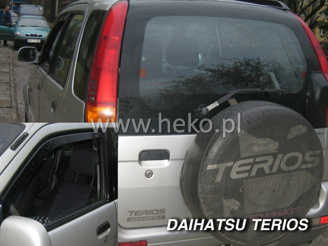 Ofuky oken Heko Daihatsu Terios 5D 1998- přední