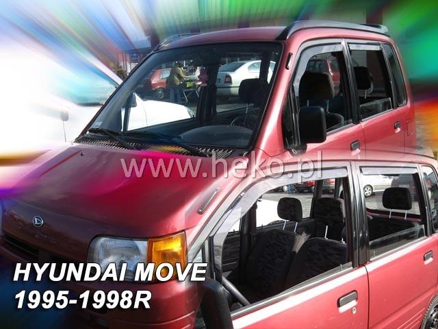 Ofuky oken Heko Daihatsu Move 5D 1995-1998 přední + zadní
