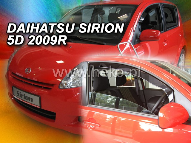 Ofuky oken Heko Daihatsu Sirion 5D 2005- přední
