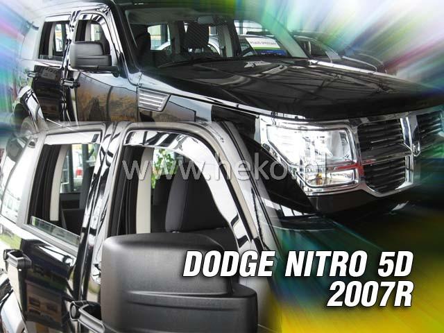 Ofuky oken Heko Dodge Nitro 5D 2007- přední + zadní