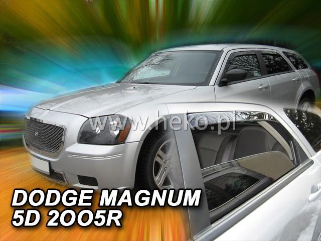 Ofuky oken Heko Dodge Magnum 5D 2005-2008 přední + zadní