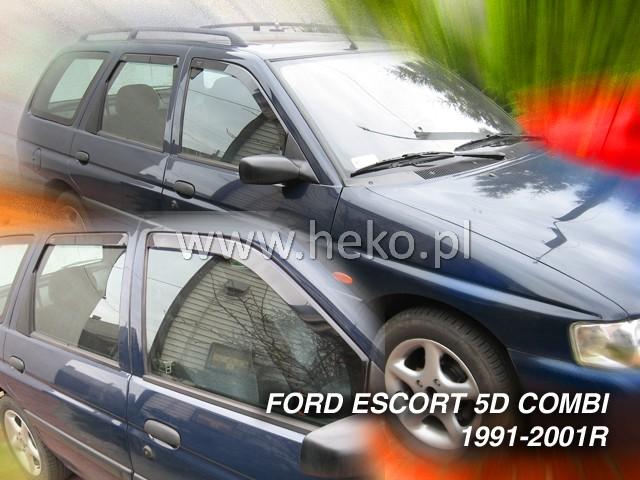 Ofuky oken Heko Ford Escort 5D 1990-2001 přední + zadní combi