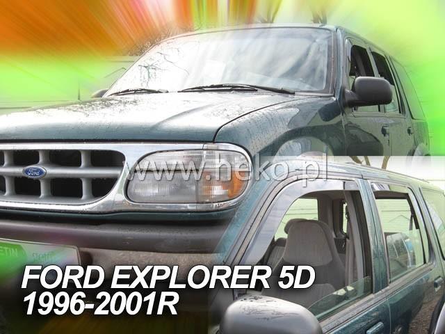 Ofuky oken Heko Ford Explorer 5D 1996-2001 přední + zadní