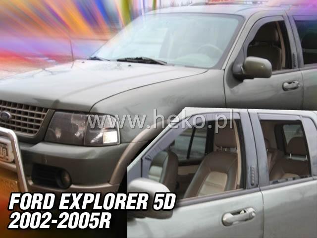 Ofuky oken Heko Ford Explorer 5D 2002-2005 přední + zadní