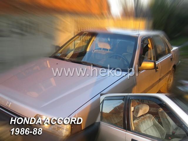 Ofuky oken Heko Honda Accord 4D 1986-1988 přední + zadní sedan
