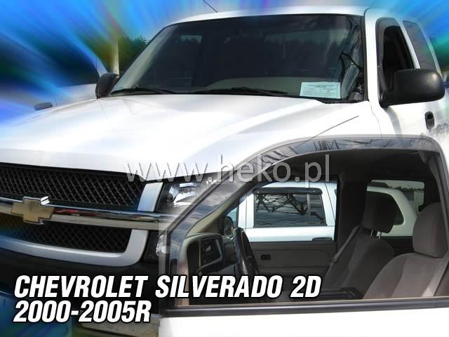 Ofuky oken Heko Chevrolet Silverado 2D 2000-2005 přední