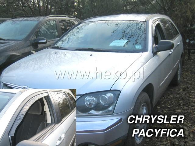 Ofuky oken Heko Chrysler Pacifica 5D 2004- přední