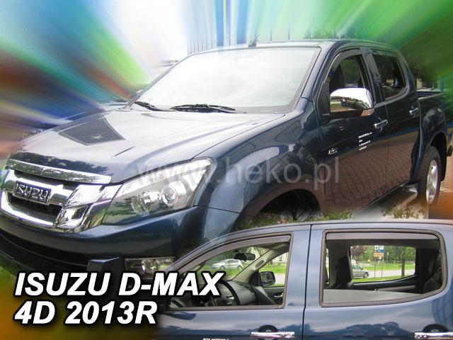 Ofuky oken Heko Isuzu D-Max 2/4D 2.gen 2012- přední + zadní