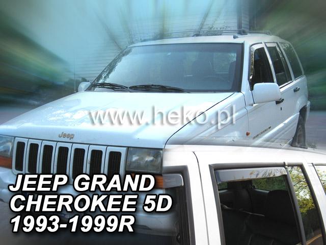Ofuky oken Heko Jeep Grand Cherokee 5D 1993-1999 přední + zadní